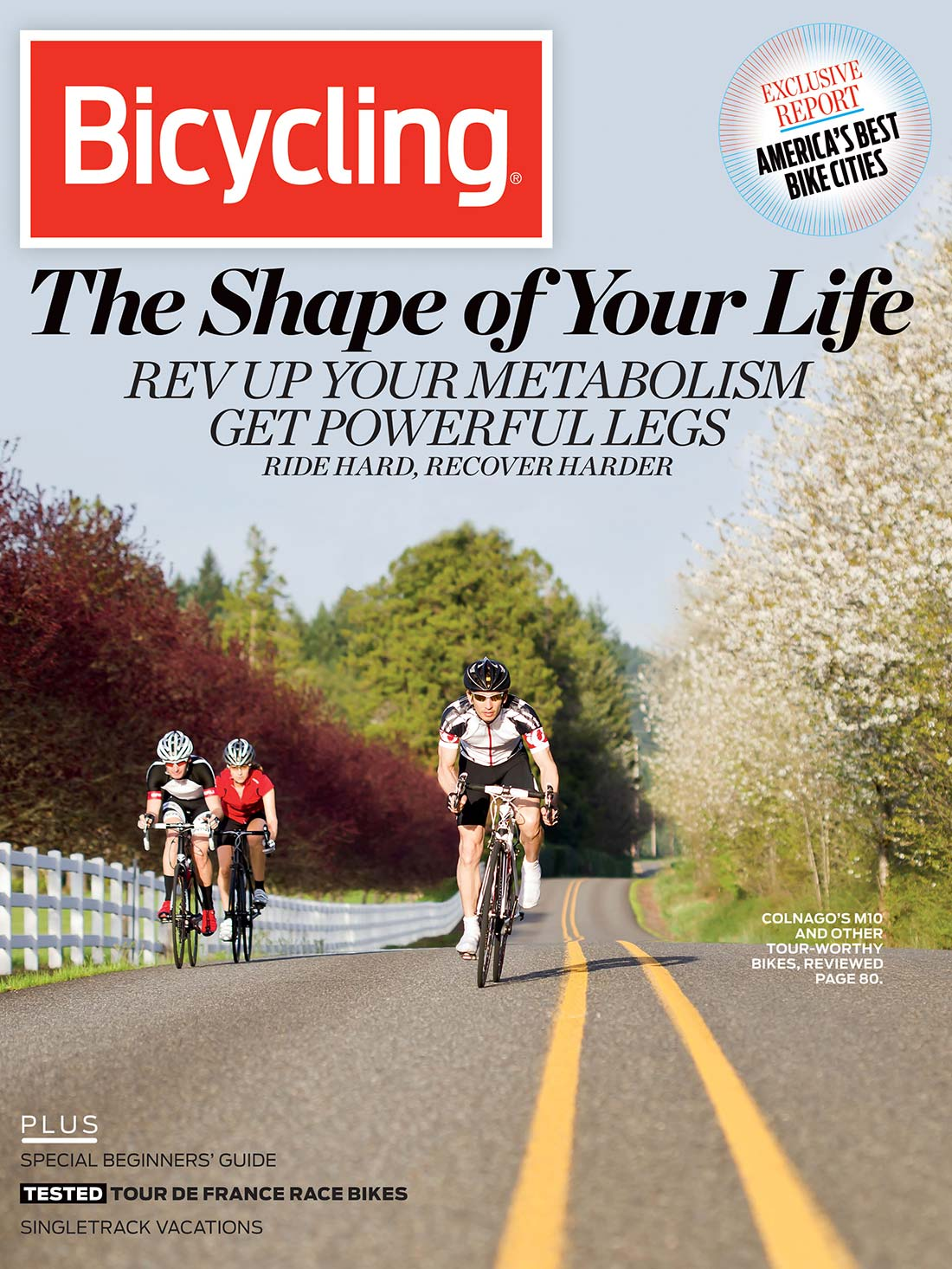 VeloDramatic Cover Image Bicycling Magazine July 2012