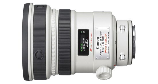Canon 85mm f1.2 White