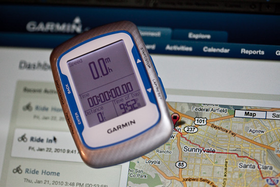 The new Garmin 500 fronts the improved Garmin Connect; but it still has problems