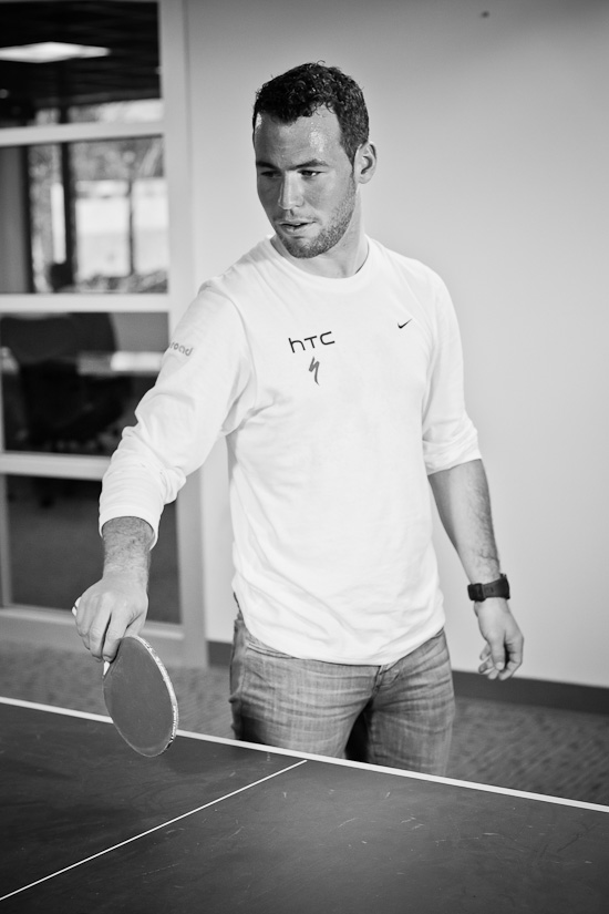 Cavendish table tennis