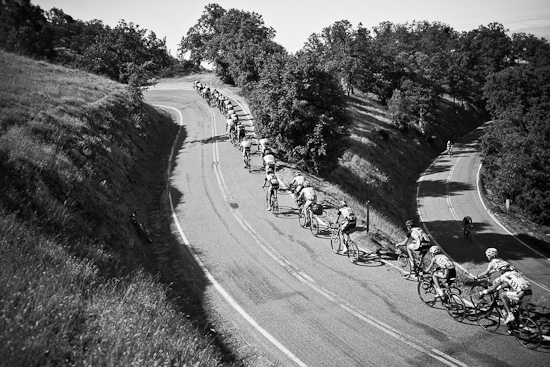 Snaking up to the KOM