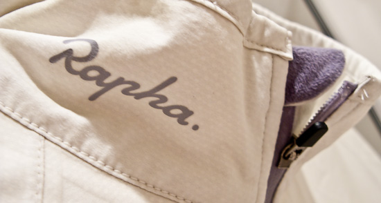 Rapha Rain Jacket back to creamy goodness