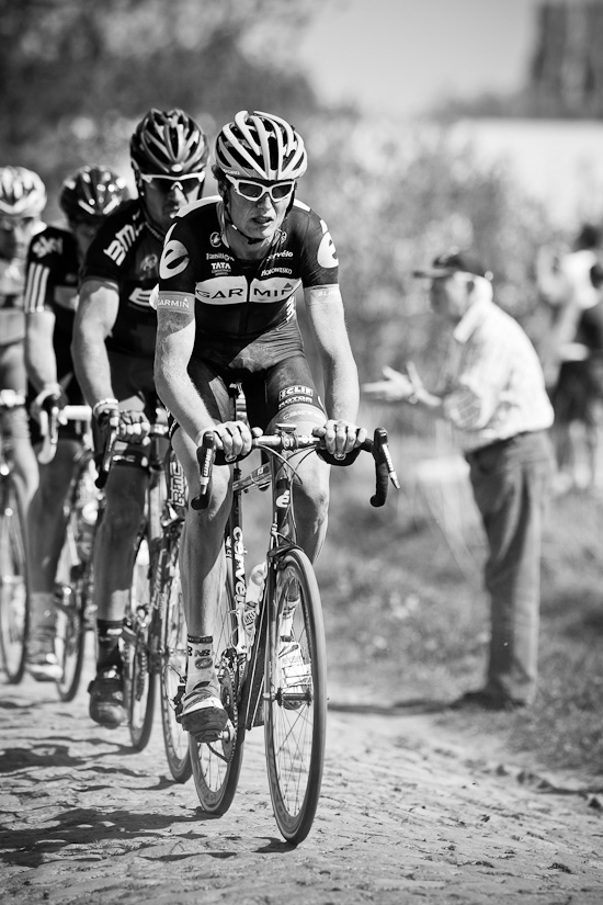 Johan van Summeren on his way to victory