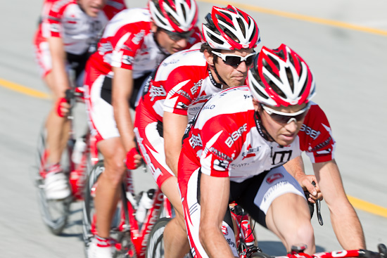 Bissell dominates the Men's Pro Crit day one