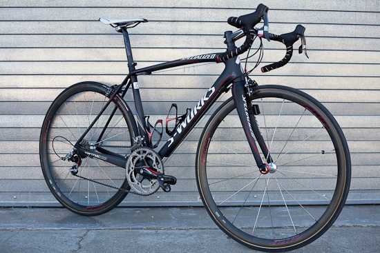 The Specialized Tarmac SL3 Superlight standing still